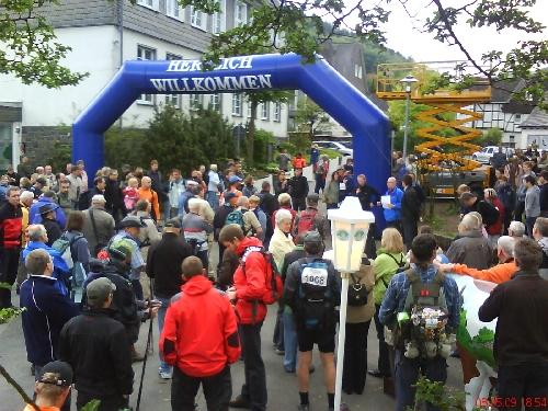 Startbereich (Foto: Hollenmarsch)