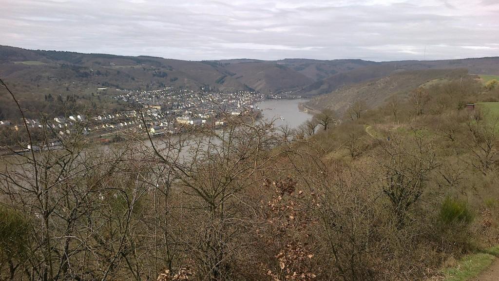 erste Vorbereitungsstunden am Rhein