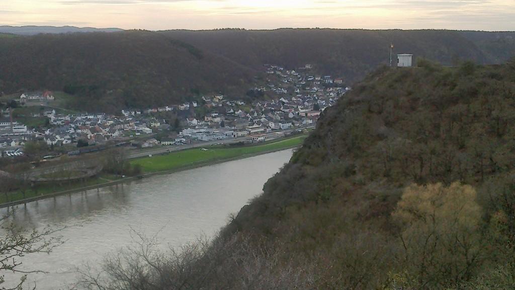 Rheinbroler Ley, erster ordenticher Aufstieg nach Feldkirchen (Foto von früher)
