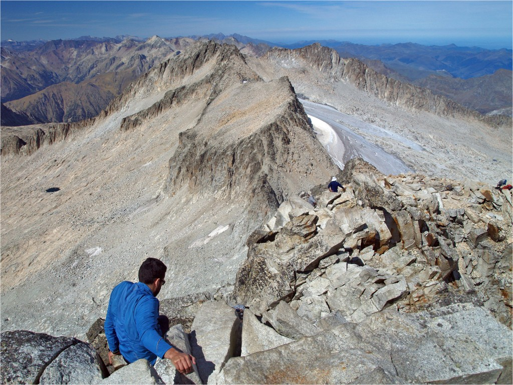 Abstieg - lang und steinig