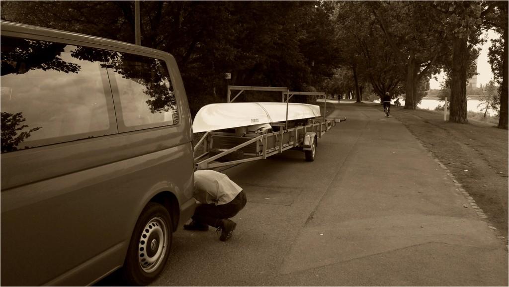 zwölf Ruderer, nur ein Boot - das kann nur Elfstedentocht sein!