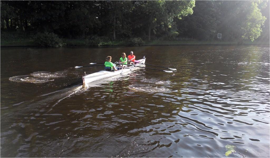 """ein Teil des """"Rheinland Dutzend"""" auf dem Wasser"""