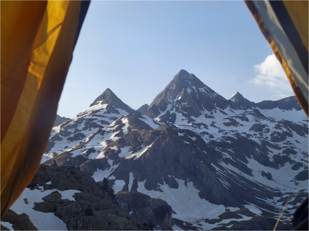 Gran Facha - höchster Gipfel im Bild