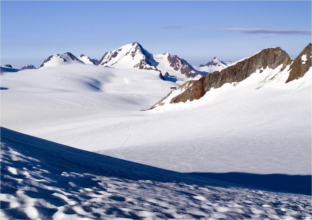 Gletschermeer vom Fluchtkogel (3500m)