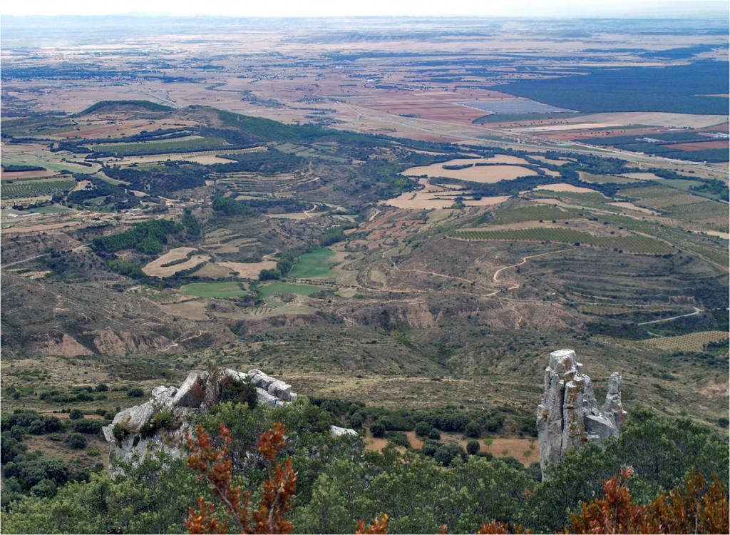 Aragons trockene Erde