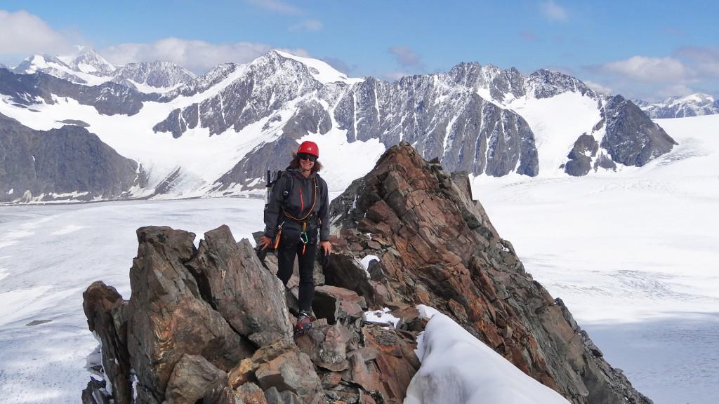 mitten in der Ötztaler Gletscherwelt (Foto: Inna)