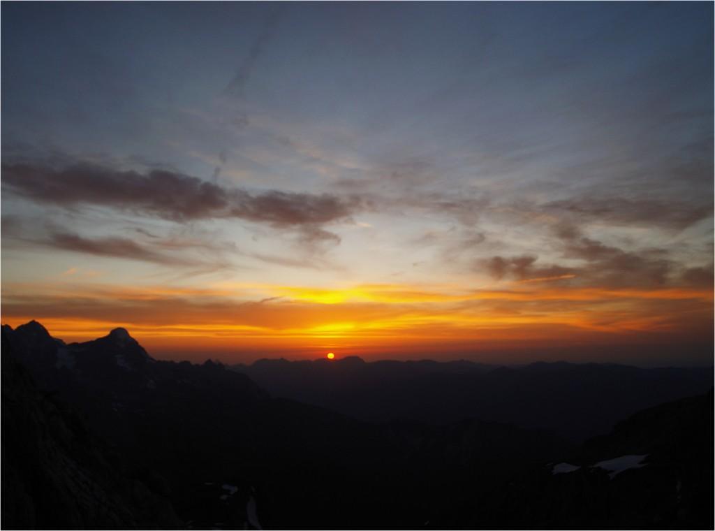 noch ein toller Sonnenuntergang
