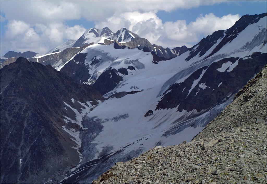 Wildspitze vom Ölgrubenjoch