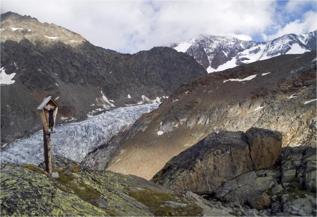 Blick von der Hütte