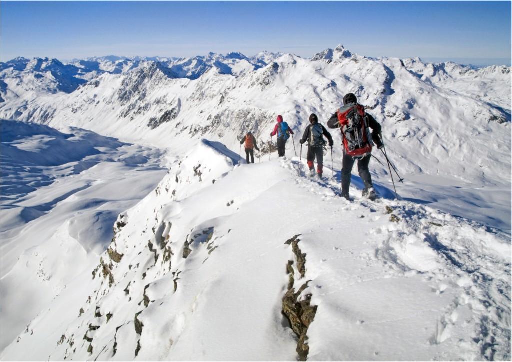 Schneeschuhwandern in Montafon