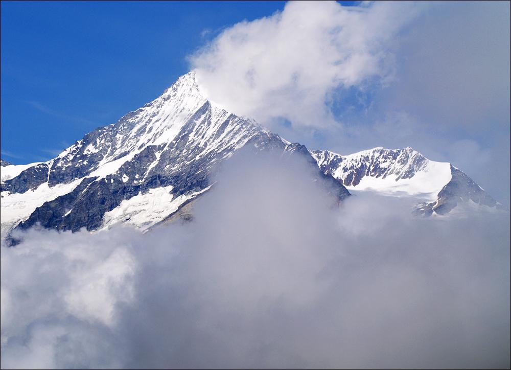 Weißhorn - da müssen wir auch noch hoch...