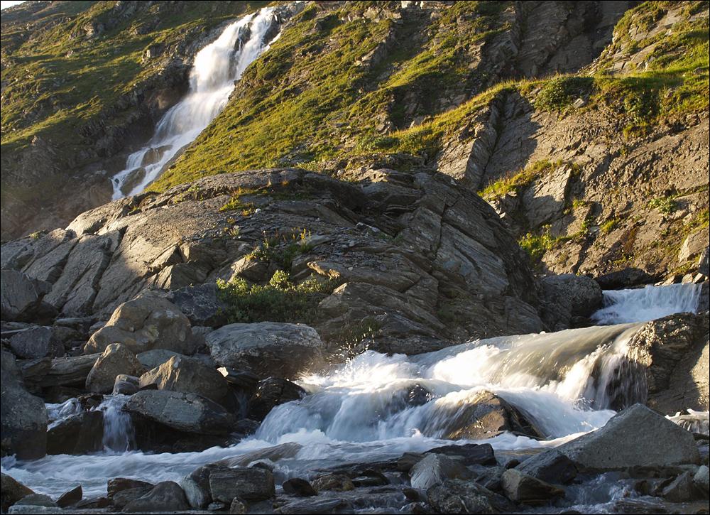 Wasser holen am Morgen