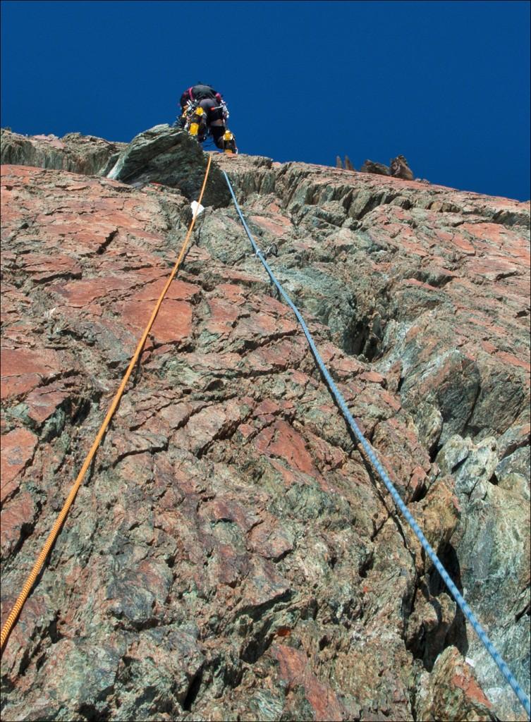 ums Klettern kommt man nicht herum