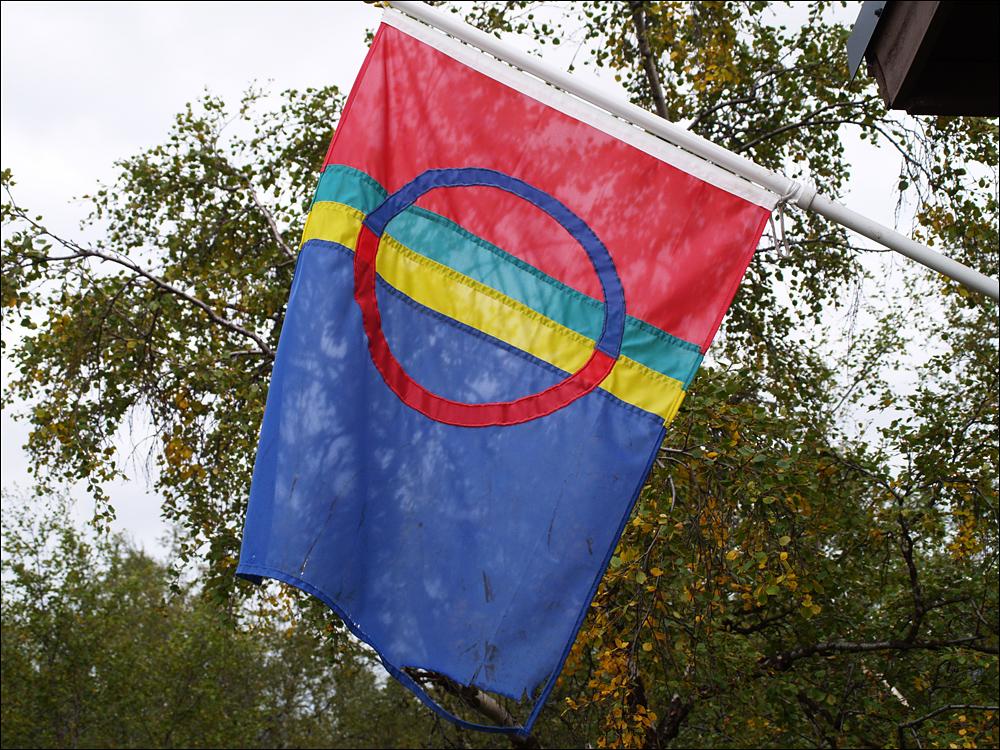 Flagge der Sami