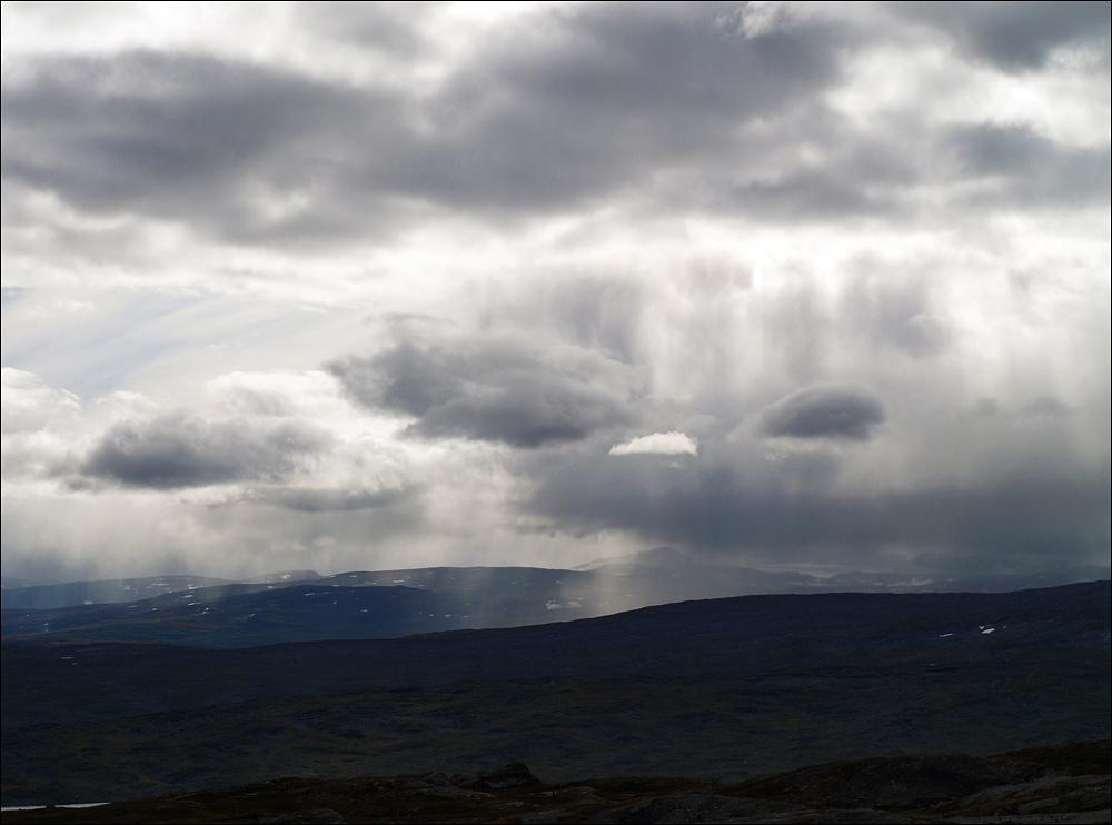 Abwechslung bei der Landschaft und beim Wetter - hier wird es nie langweilig