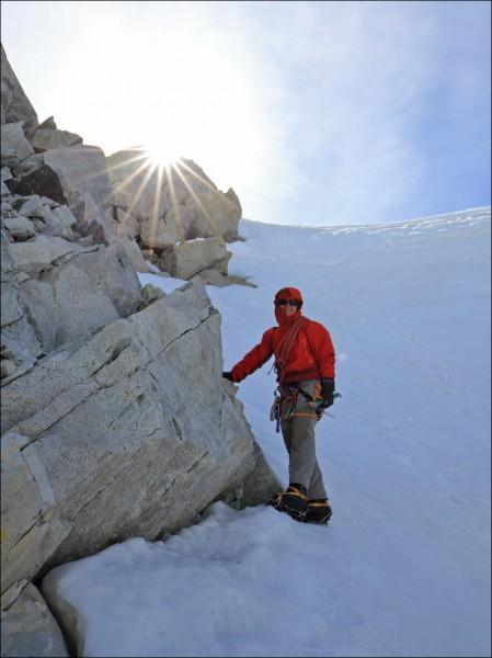 Das Wetter sollte instabil bis schlecht sein, war aber alle vier Tage am Berg durchaus akzeptabel - noch ein Sechser im Lotto... (Foto: Frank N.)