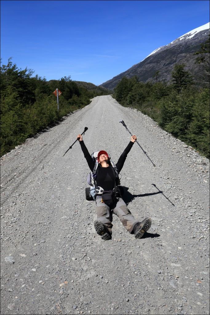 Geschafft bis zur Carretera Austral! Gerettet! (Foto: Frank N.)