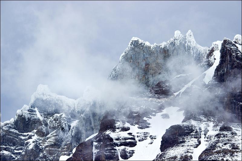 hier befinden sich mit die größten alpinistischen Herausforderungen überhaupt...