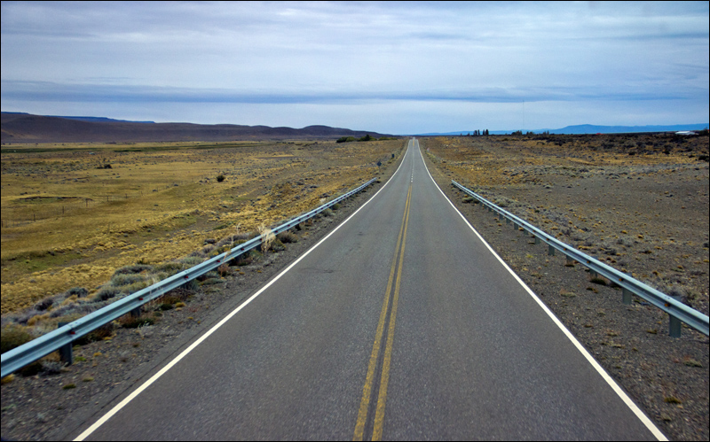 weiter geht es: Busfahrt El Chalten - Puerto Natales
