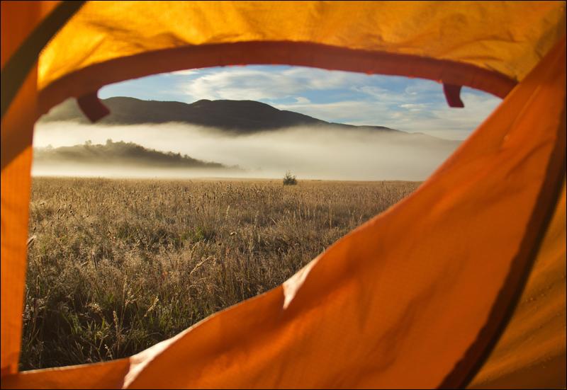 ..und der Morgen im Camp. Seron...