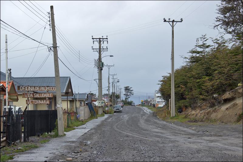 Puerto Williams (Chile, 2300 Einwohner), die im Jahr 1927 gegründete südlichste Ortschaft der Welt