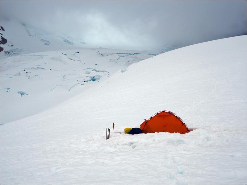 einsam im Lager 2