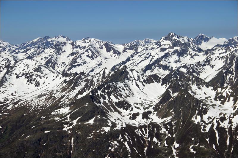 Blick vom Gipfel - ich liebe den Frühling...