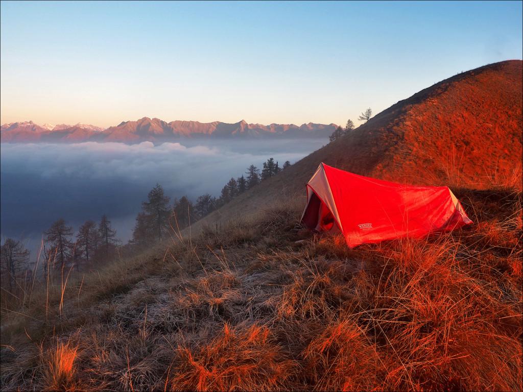 ein ganz normaler Morgen im Val Grande