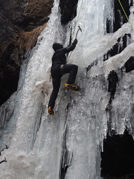 das erste Mal im Eis